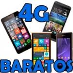 Móviles 4G baratos por 150 euros
