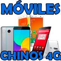 móviles chinos 4g