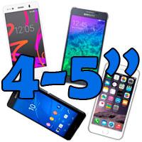 móviles 4 5 pulgadas