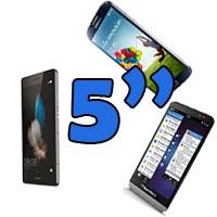 móviles de 5 pulgadas