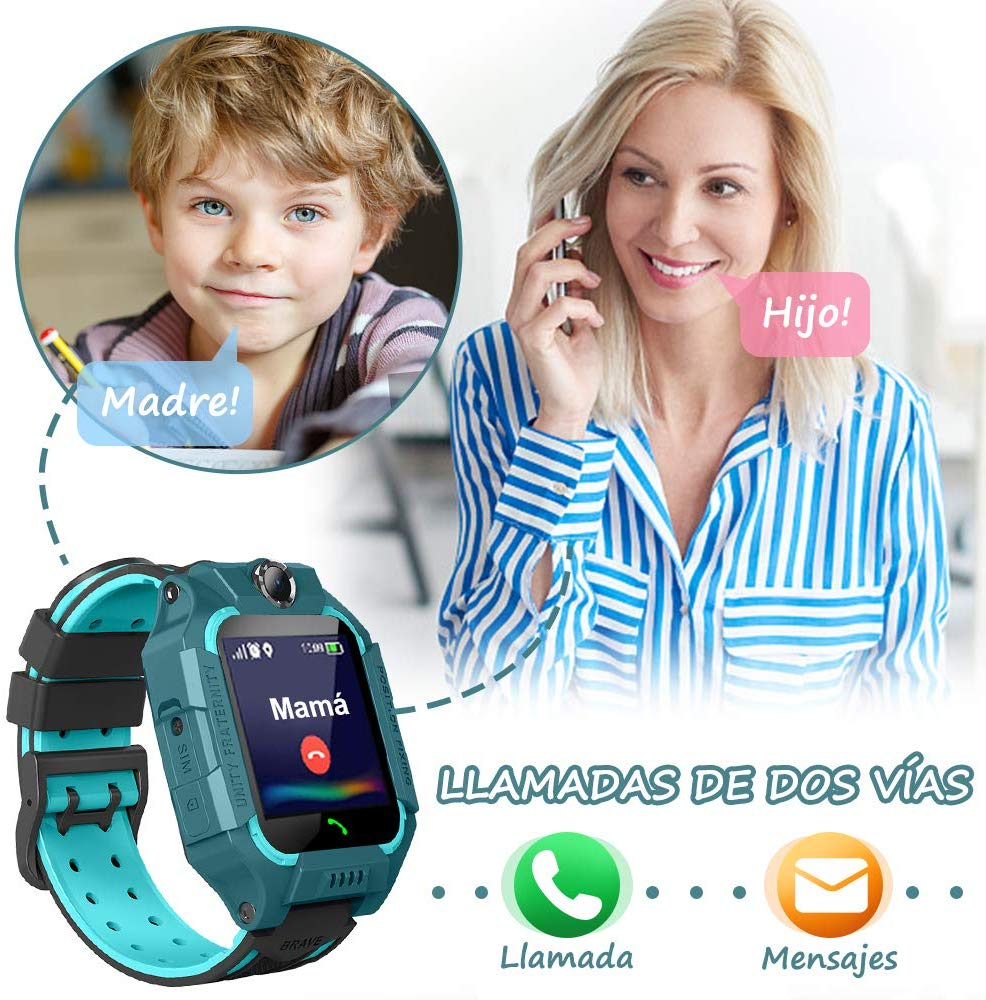 reloj con movil para niños