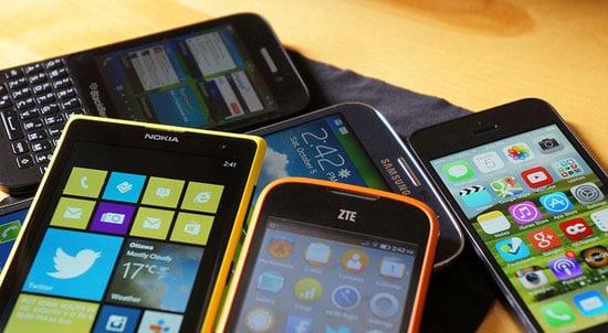 tipos de móviles