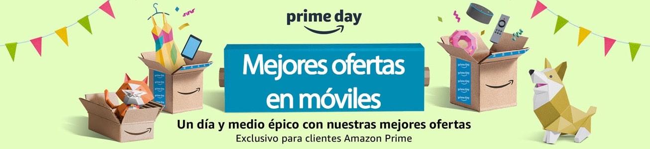 Ofertas en móviles en Prime Day